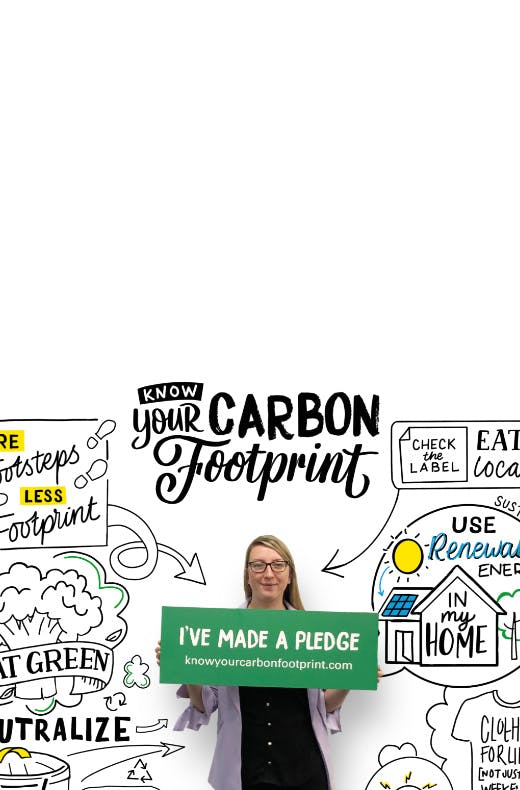 Inspiring young people to reduce their carbon footprint